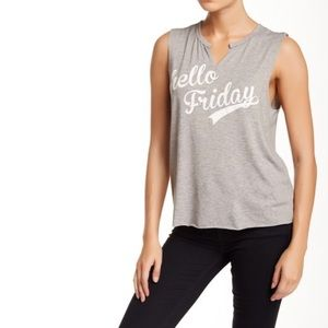 H.I.P. Happening in the Present Hello Friday Top